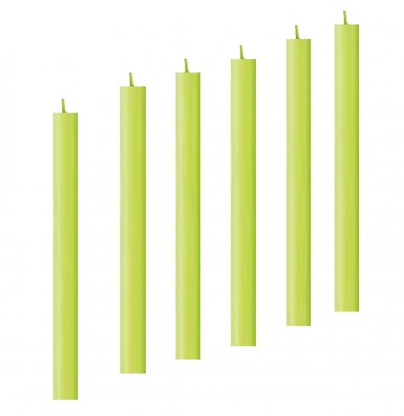 stabkerze arte gruen apfelgruen