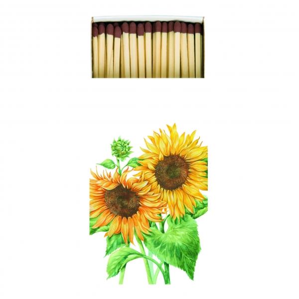 Kaminhölzer Sonnenblumen, Streichhölzer