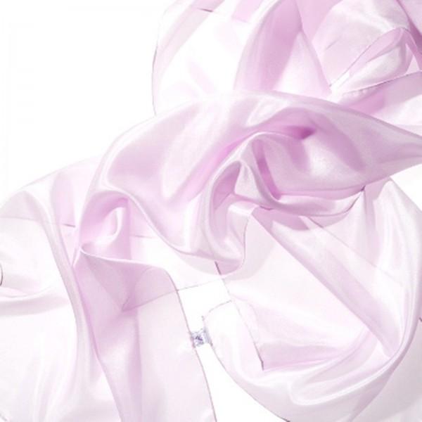 Seidenschal 100 % Seide rosa 180 x 45 cm