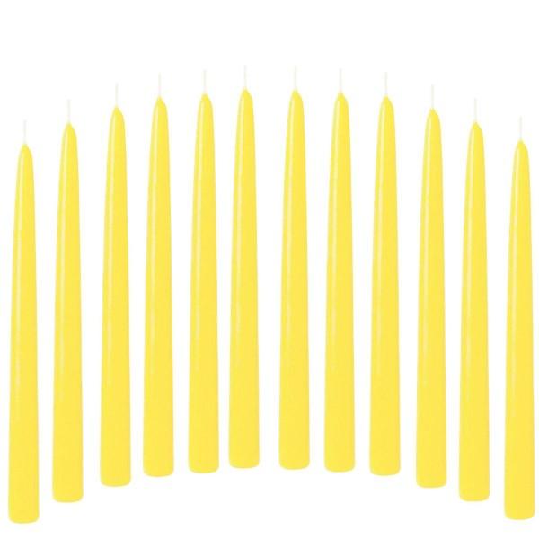 spitzkerzen gelb hell