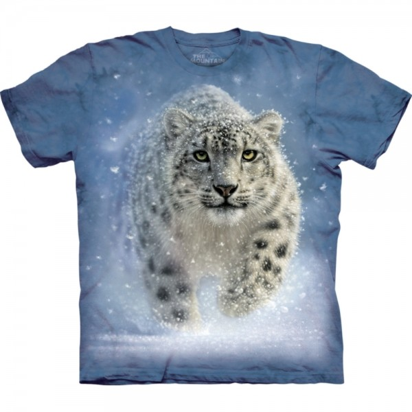 The Mountain Snow Ghost Leopard T Shirt