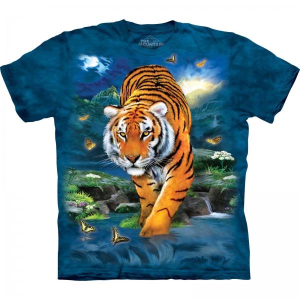 The Mountain 3D Tiger Animal T Shirt