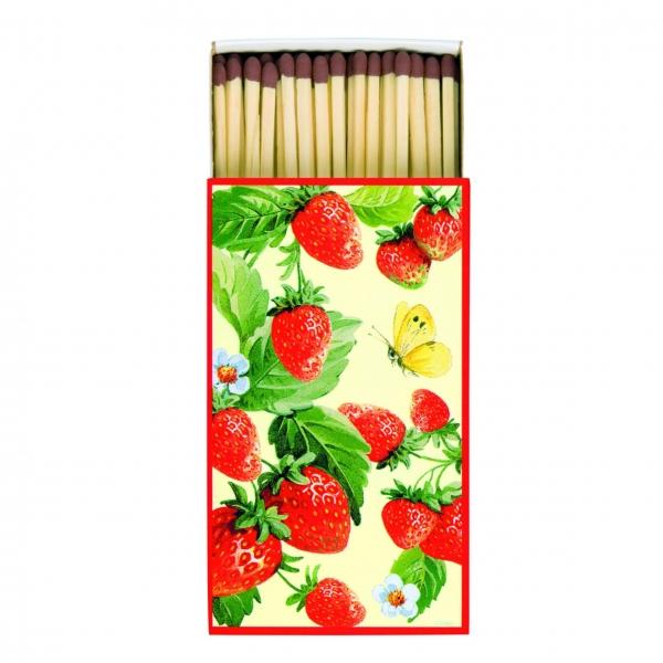 Kaminhölzer, Streichhölzer Erdbeeren