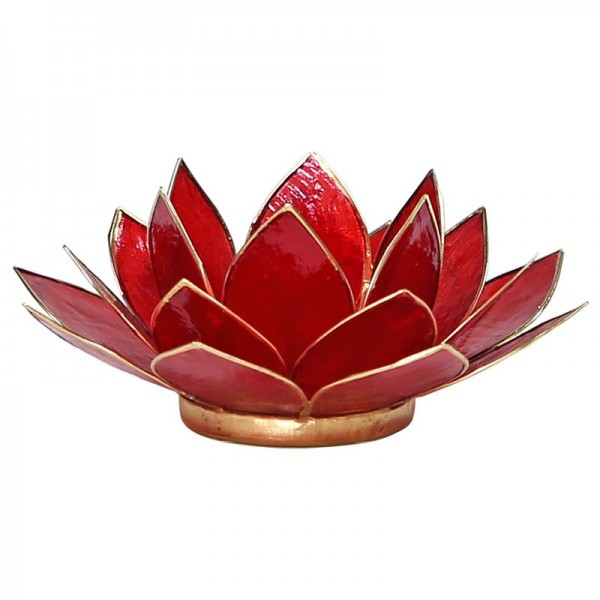 Lotus Teelichthalter, Kerzenhalter