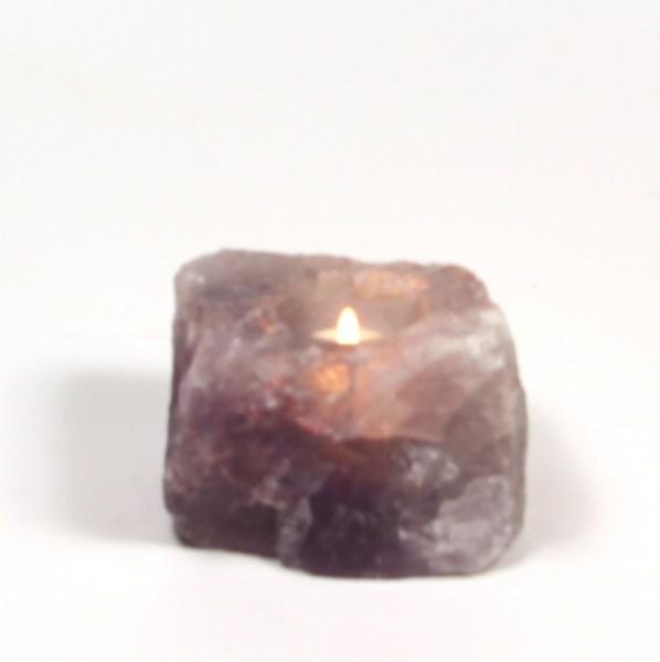 Amethyst Kerzenhalter, Teelichthalter